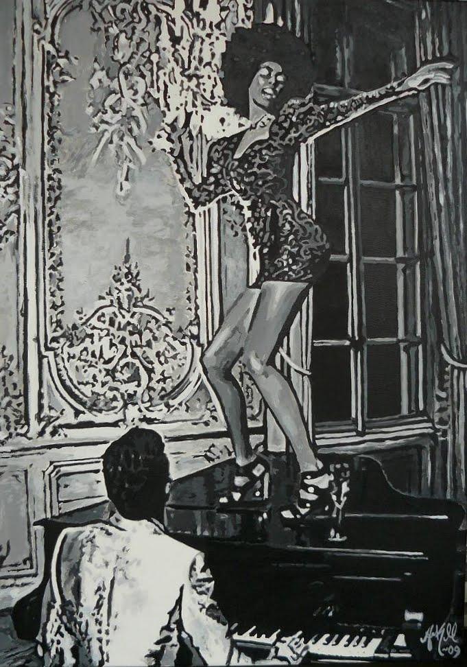 Akryl 50 x 70 cm.